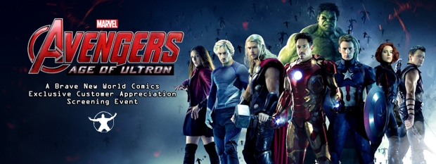 Avengers Age of Ultron facebook event