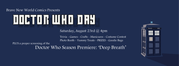 Doctor Who Day Event Header