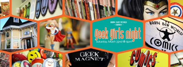 Geek Girls Night