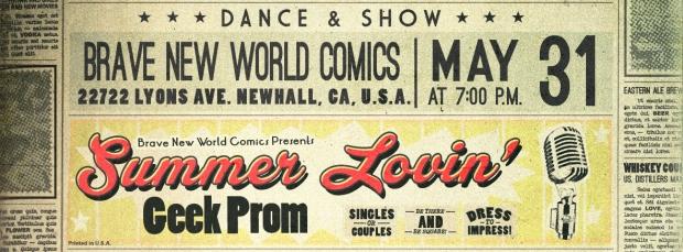 Geek Prom Event Header
