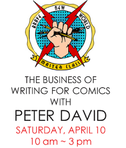 The Business of Writing For Comics Master Class