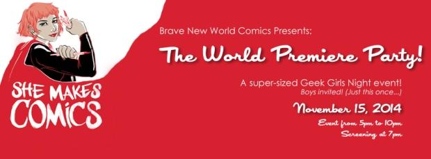 She Makes Comics Event Header 2